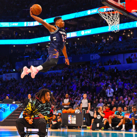 Dennis Smith Jr Dunks Over J. Cole, Finishes 2nd in 2019 NBA Dunk Contest286