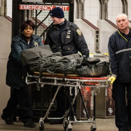 Man dragged to death by subway after bag gets caught on train45