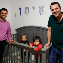 Judge grants citizenship to twin son of gay couple121
