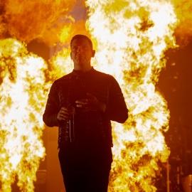 Shinedown on fire as it kicks off North American tour in Estero140