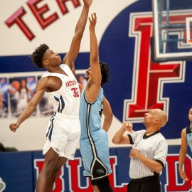 Terry Sanford boys top Overhills for fourth straight tournament title43