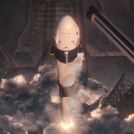 'More than a test flight': SpaceX nears first Crew Dragon launch from KSC73