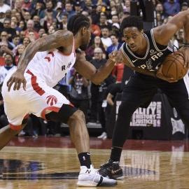 Spurs suffer heartbreaking loss in DeMar DeRozan's return to Toronto124