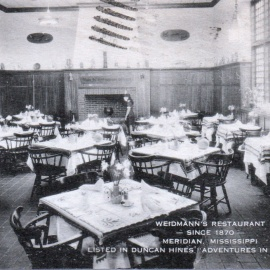 Vacation Postcards: Weidmann's Restaurant, Meridian307