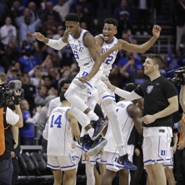 Sammy Batten: Blue Devils live up to the hype with ACC tourney title43