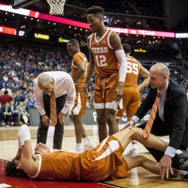 Texas F Jaxson Hayes out against South Dakota State206