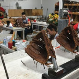 A Small Town In Texas Is Home To One Of The Last Baseball Glove Factories In The U.S.137