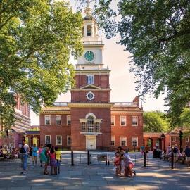 Travel: Philadelphia story: city has chapters on history, art, family fun264