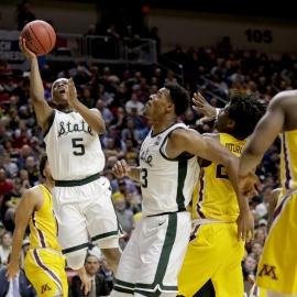 NCAA roundup: Michigan State back in Sweet 1643