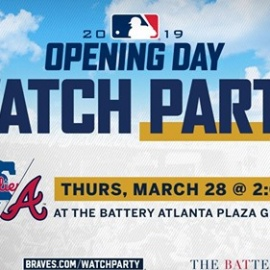 FREE: Braves host opening day watch party on March 28th195