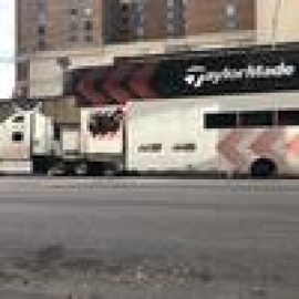 Why TaylorMade brought a decked-out big rig, golf stars including Tiger Woods to downtown Austin201