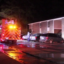 3 kids, 4 adults displaced after fire at Fayetteville home34