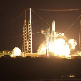 Powerful Atlas V rocket blasts off from Cape Canaveral with $1.8 billion Air Force satellite73