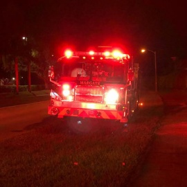 1 person hurt in house fire in Margate88