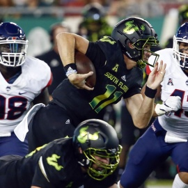 No. 21 USF Survives Yet Another Scare, Defeats UConn 38-30 To Remain Unbeaten 58