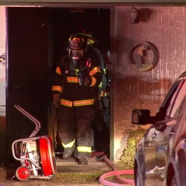 Golf shop catches fire overnight34