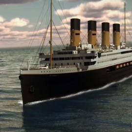 Titanic replica to retrace path of original when it sets sail in 202234