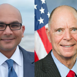 FLORIDA TODAY holds election forum with U.S. Rep. Bill Posey and Sanjay Patel73