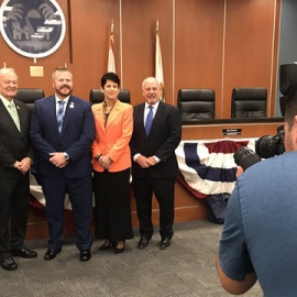 Wilton Manors swears in all-gay City Commission88