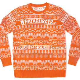 Whataburger Sells Out of Christmas Sweaters, But More Are On the Way122